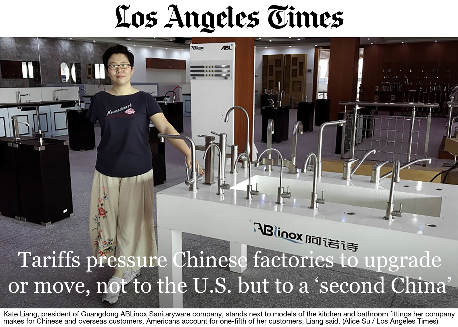 Tariffs Pressure Chinese Factories to Upgrade or Move Not to the US but to a Second China