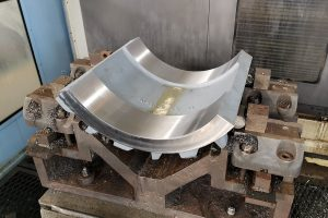 Milled casting parts