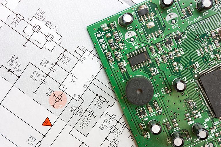 Complete PCBA design
