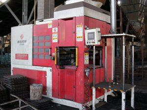Máquina automática de molde de areia de construção