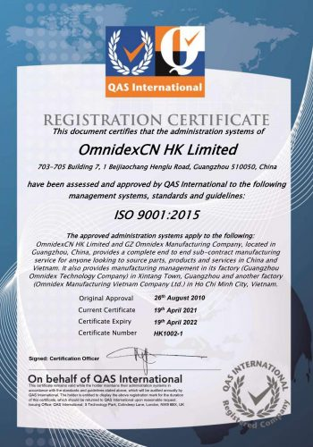 ISO 9001 final 2021